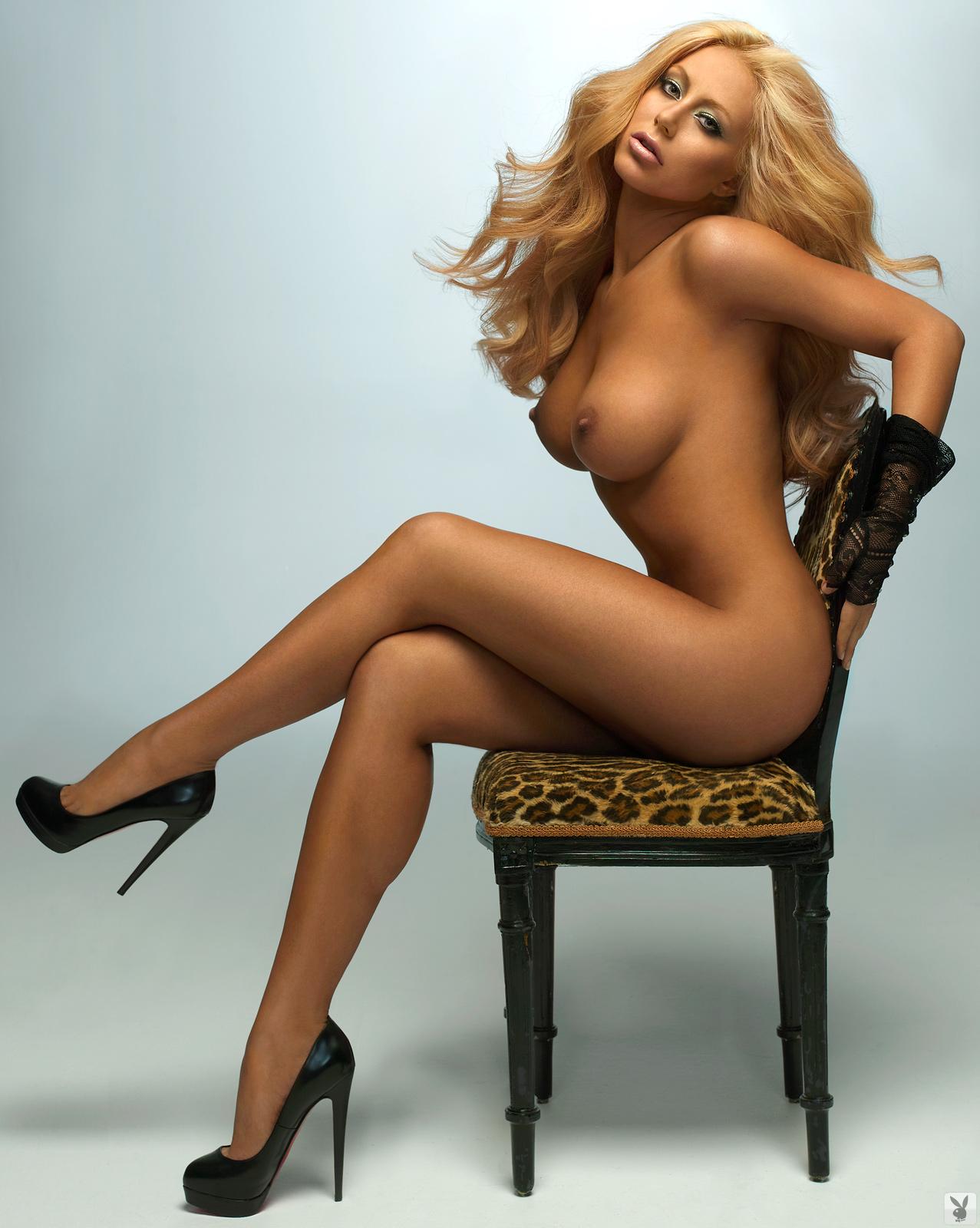 Aubrey o day naked playboy group