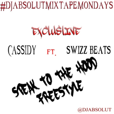 Cassidy Ft Swizz Beatz - Speak To The Streets (Freestyle) -- uncutmagazine