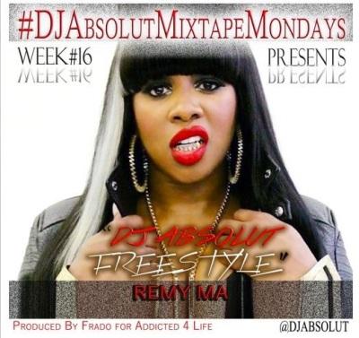 Remy Ma - DJ Absolut Freestyle -- uncutmagazine