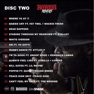 Rick Ross - Renzel Remixes disc two -- uncutmagazine
